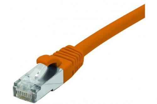 Image for EXC RJ45 cat.6 LSZH snagless Orange 0.3M