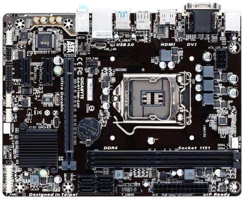 GAH110MS2H Motherboard LGA1151 Socket H4