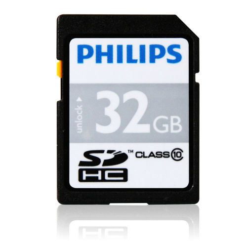 Philips 32GB CL10 MicroSDHC Card