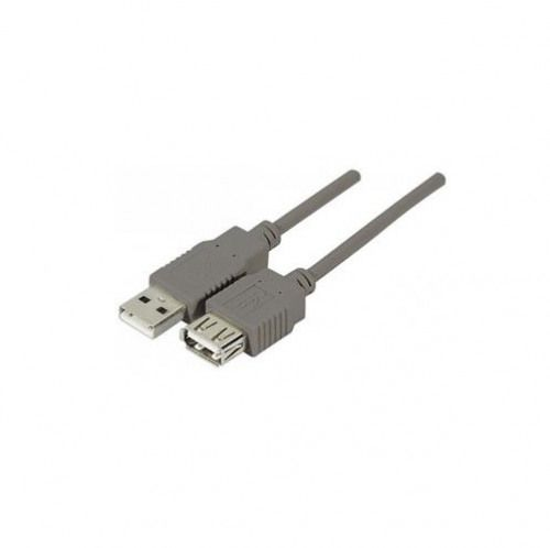 EXC USB 2.0 A.A M to F Grey Cable 5m