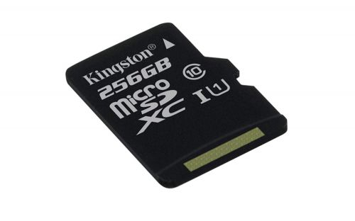 256GB CL10 Canvas Select Micro SDXC
