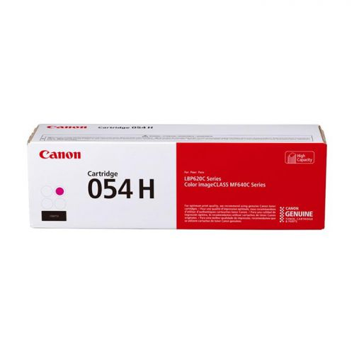 Canon 054 High Yield Laser Toner Cartridge Magenta 3026C002