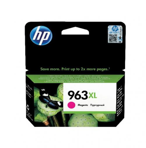 HP 3JA28AE 963XL Magenta Ink 23ml