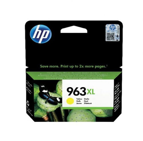 HP 3JA29AE 963XL Yellow Ink 23ml