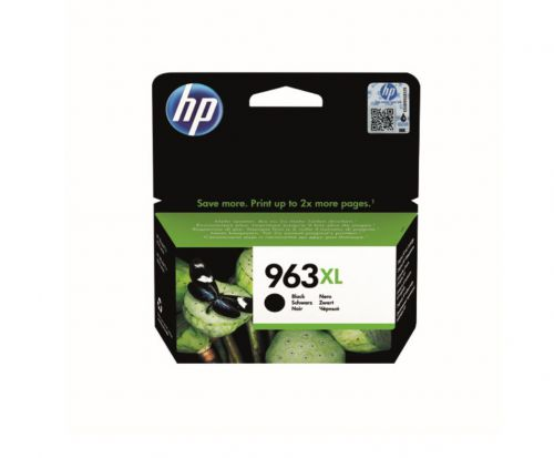 HP 963XL (Yield: 1,000 Pages) High Yield Original Ink Cartridge (Black)