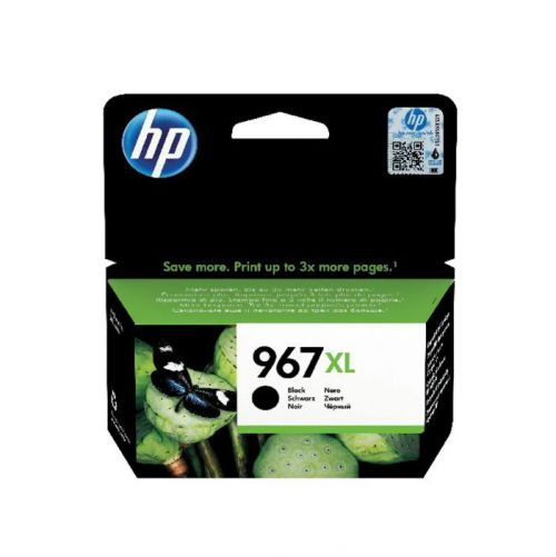HP 3JA31AE 967XL Black Ink 3K