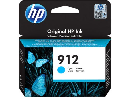 HP 3YL77AE 912 CYAN INK CART 315 PAGES