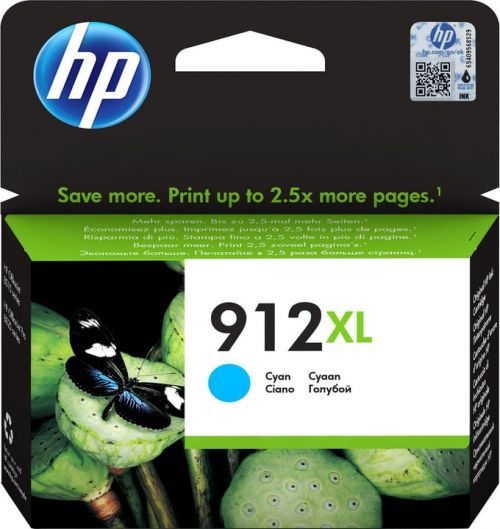 HP 3YL81AE 912XL CYAN INK CART 825 PAGES
