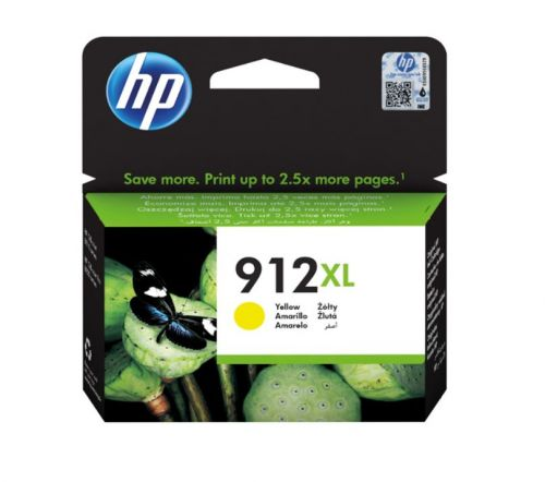 HP 3YL83AE 912XL YELLOW INK 825 PAGES