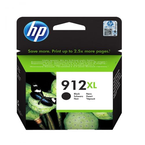 HP 3YL84AE 912XL BLACK INK CART 825 PAGE