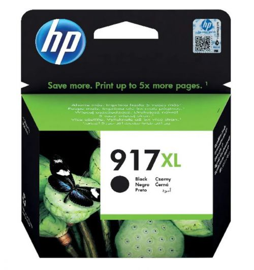 HP 3YL85AE 917XL Black Ink 39ml
