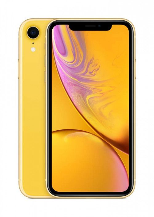 Apple iPhone XR 128GB Dual Sim 4G Yellow