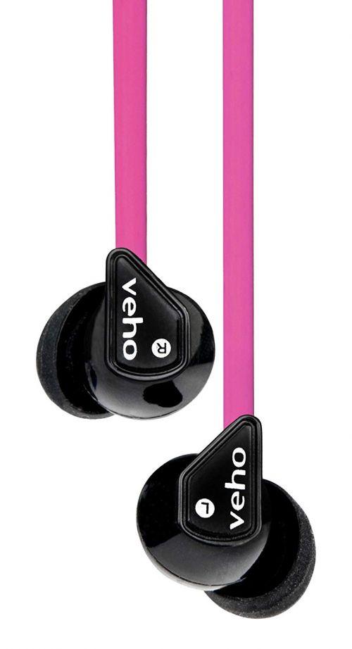 360 Z1 Intraaural In Ear Pink Earphones