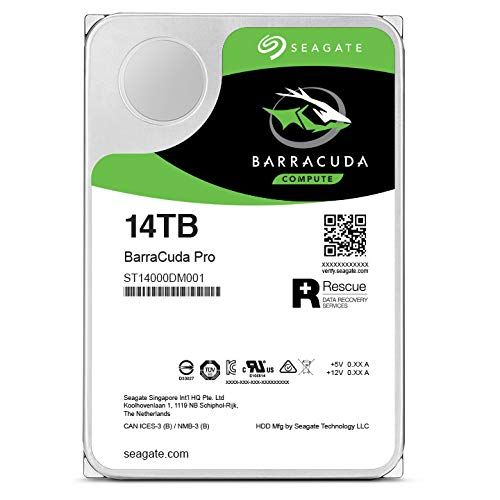 HDD Int 14TB BarraCuda Pro SATA