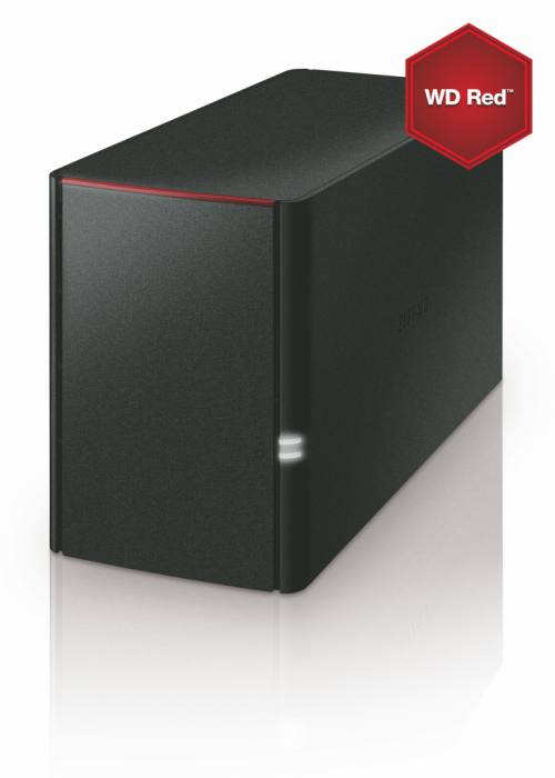 Buffalo NAS External 8TB 220 WD Red Desk LAN