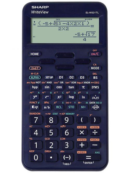 Sharp ELW531T  Scientific Calculator Blue