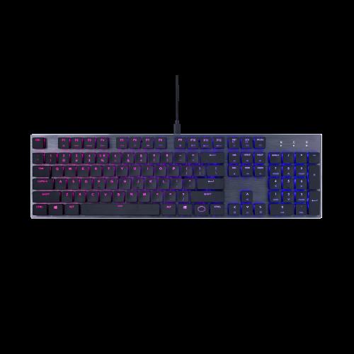 Cooler Master USB SK650 MX Low Profile RGB Keyboard
