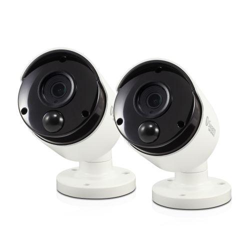 5MP Bullet Camera with PIR Sensor 2 Pack