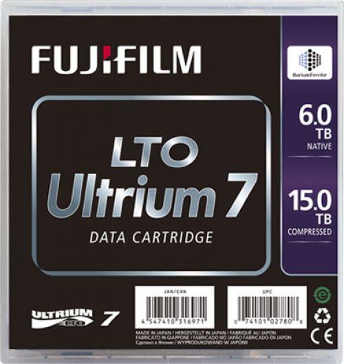 Fujifilm 16456574 LTO7 Blank Data Tape 6TB