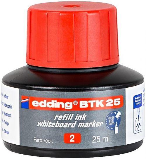 edding BTK 25 Refill Ink For Whiteboard Marker Red