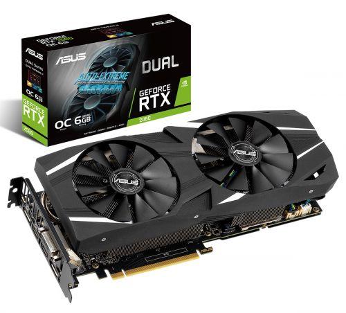 Asus Dual RTX 2060 Geforce 6GB DDR6