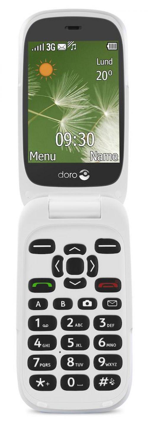 Doro 6520 3G Flip Mobile Phone