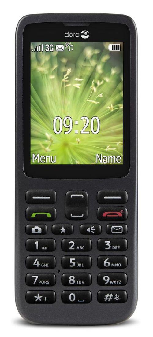 Doro 5516 3G Black Senior Mobile Phone