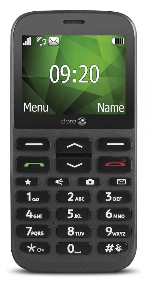 Doro 1370 2G Dual SIM Easy to Use Phone