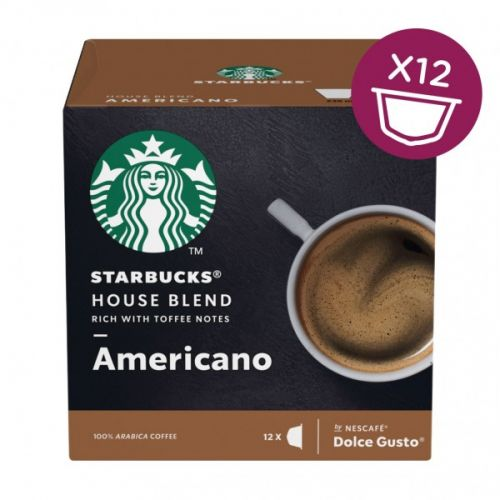 STARBUCKS by Nescafe Dolce Gusto AMERICANO HOUSE BLEND PK3