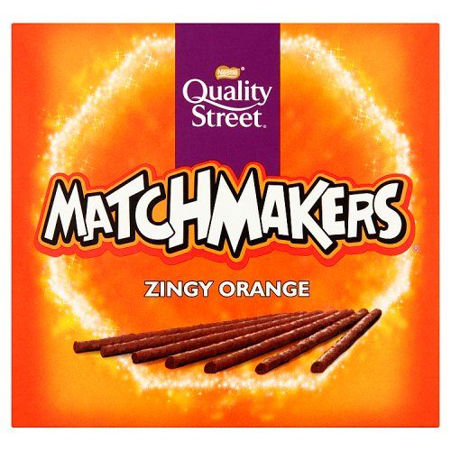 Quality Street Zingy Orange Matchmakers 120g