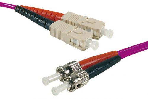 EXC 20m Fibre Duplex OM3 50 125 SCST Purple