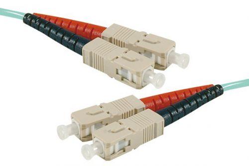 EXC 0.5m Fibre Duplex OM3 50 125 LSZH SCSC