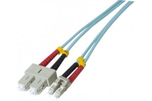 EXC 30m Fibre Duplex OM3 50 125 LSZH SCLC