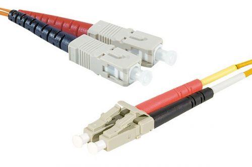 EXC 1m Fibre Duplex Patch OM1 62.5 125 LCSC
