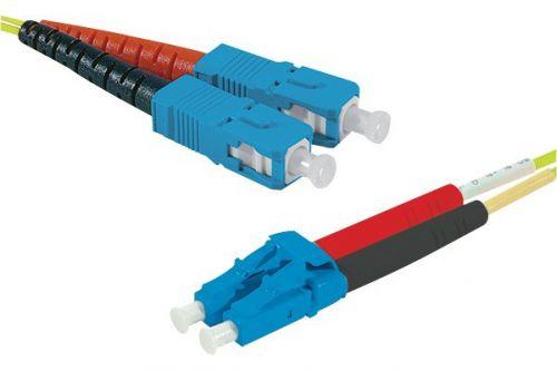 EXC 10m Fibre Duplex OS2 9 125 LSZH SCLC