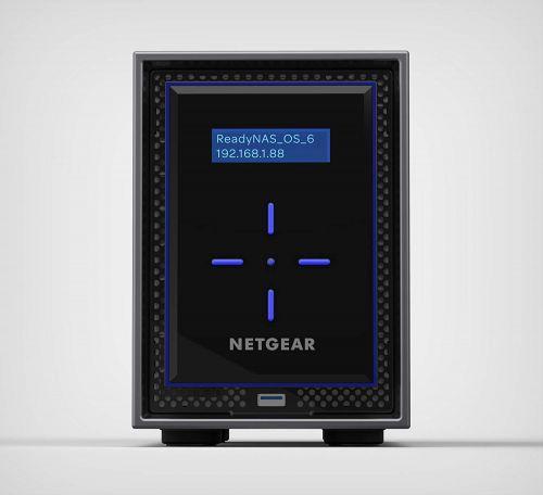 Netgear 4TB ReadyNAS 422 2GB RAM 2 Bay NAS