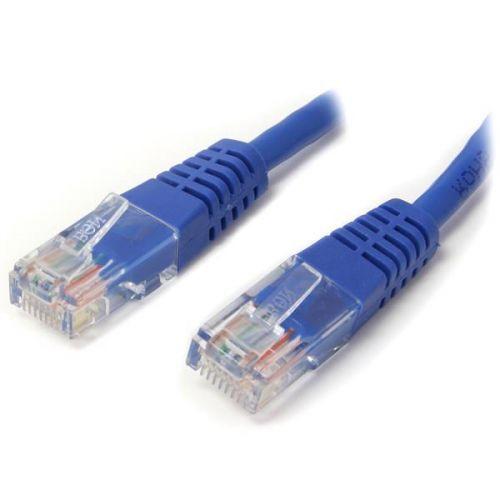 Startech 3m Blue Molded Cat5e UTP Patch Cable