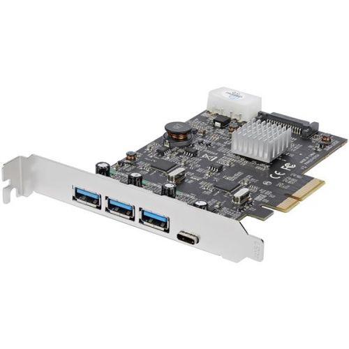Startech 4 Port USB3.1 PCIe Card 3x USBA 1x USBC