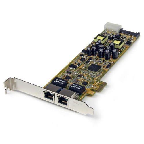 Startech 2 Port Gbit Ethernet PCIe Network Card