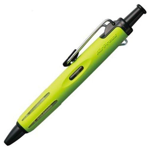 Tombow Ballpoint  AirPress Pen Lime Green Barrel BK PK1