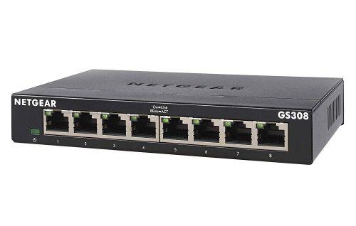 8 Port Gbit Unmanaged 300 Series Switch
