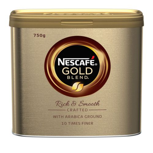 Nescafe Gold Blend Case 6 with FOC Nestle Mini Breaks