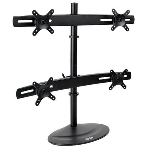 10in to 26in Quad Monitor Mount Stand
