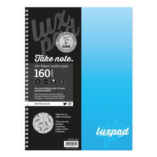 Silvine Sane Charity Notebooks A4+ PK6