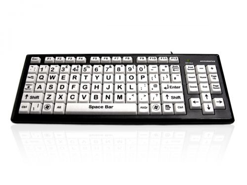 Monster 2 USB High Contrast Keyboard