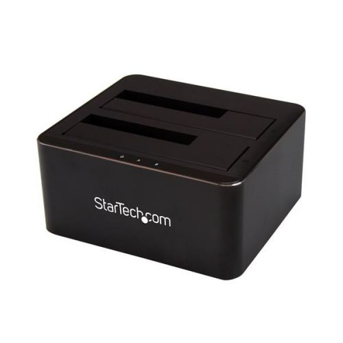 Dual Bay SATA HDD SSD Dock 2.5in 3.5in