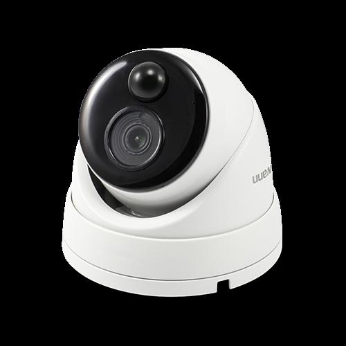 5MP True Detect IP White Dome Camera