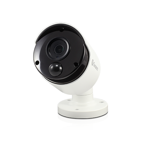 4K True Detect White Bullet Camera