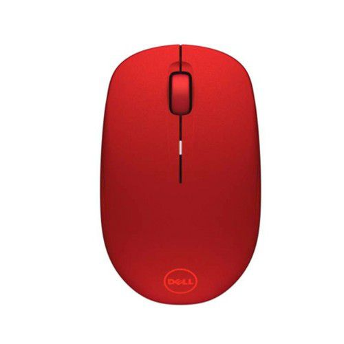 Dell WM126 1000 DPI Red Wireless Mouse