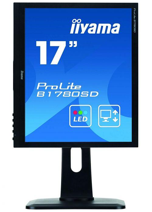 17in LED Monitor Adjustable VGA DVI